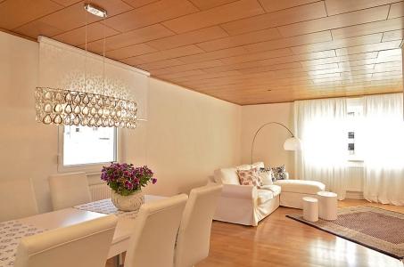 Großzügiges Wohnzimmer mit Essbereich, Fewo Nessel in Haßloch/Pfalz